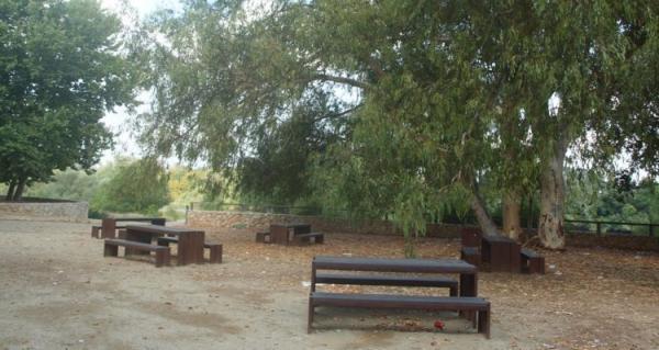 Área de picnic del paseo de Ribera Con niños