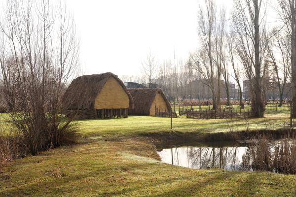 Parque Neolítico de la Draga Con niños