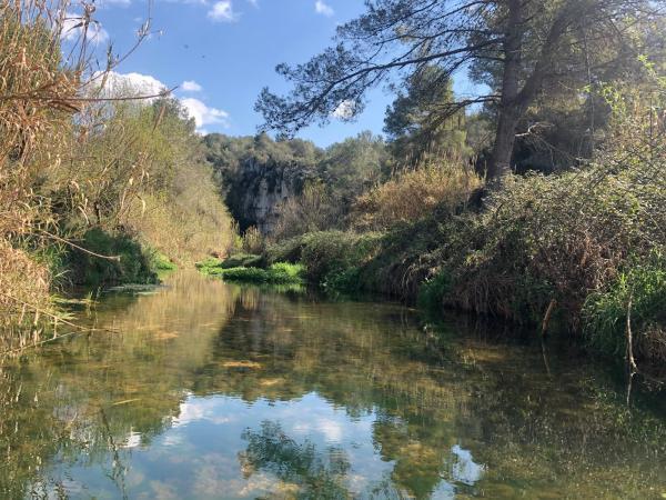 Els Set Ponts de Vilabella y el río Gaià Con niños