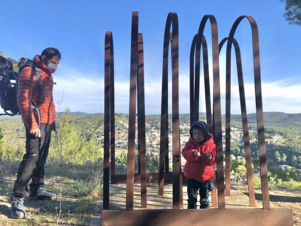 Art a l'aire lliure, Vespella de Gaià. Foto: ESCAPADAAMBNENS.COM