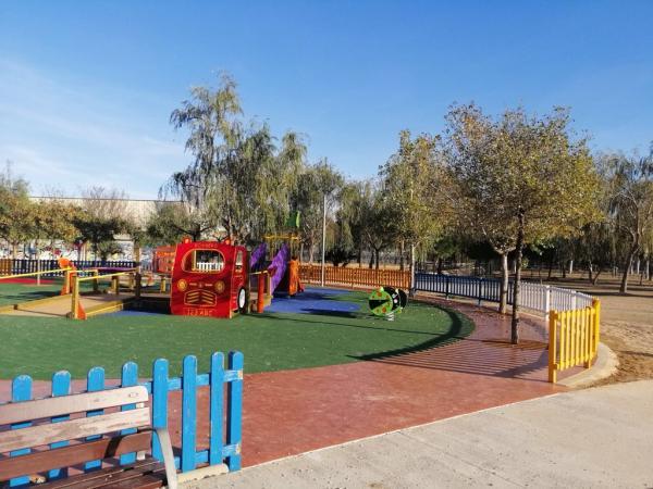 Parque de los Xiribecs Con niños