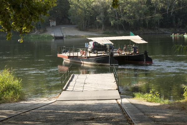 El pueblo de los yacimientos al lado del Ebro