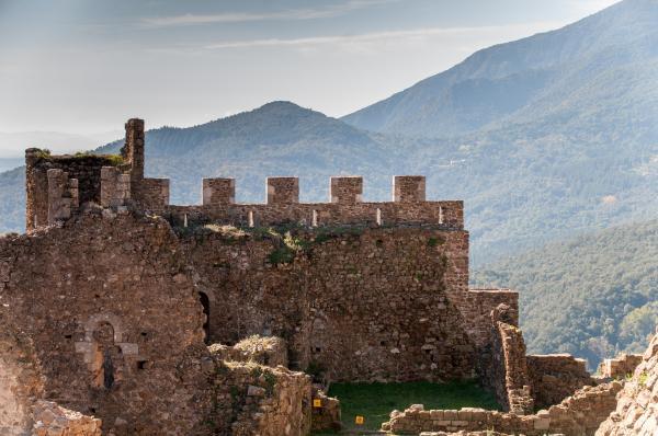 Castillo de Montsoriu Con niños