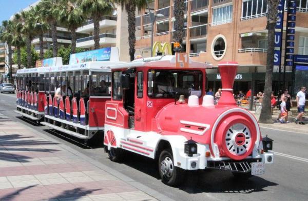 Tren turístico de Salou Con niños