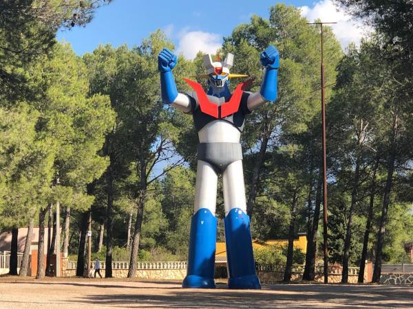 Mazinger Z, l'estàtua gegant amb nens