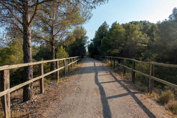 Més de 20 km de via verda per recórrer en família