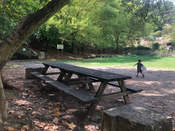 Àrea de pícnic Font d'en Jordana amb nens