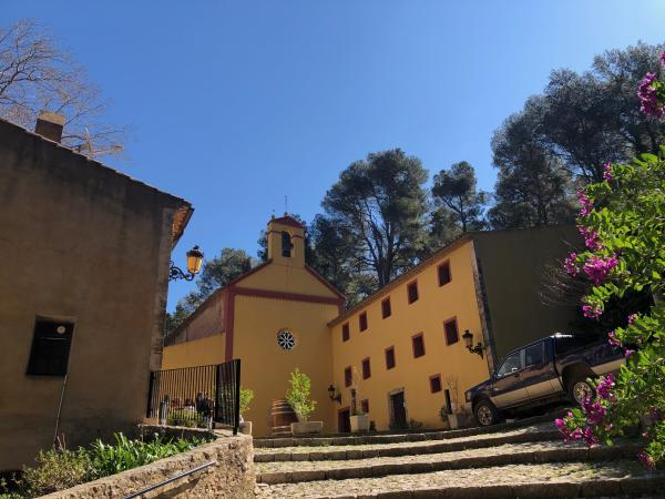 Santuario de Santa Marina, Pratdip Con niños
