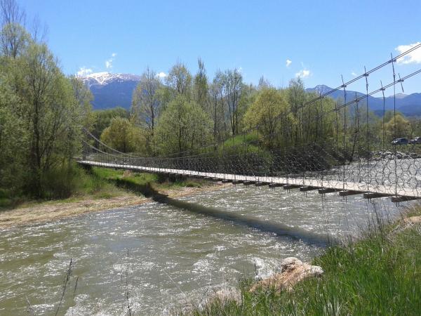 Pont de la Palanca del Segre Con niños