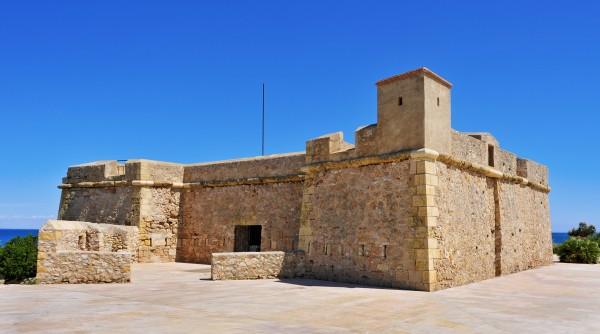 Castillo de Sant Jordi Con niños