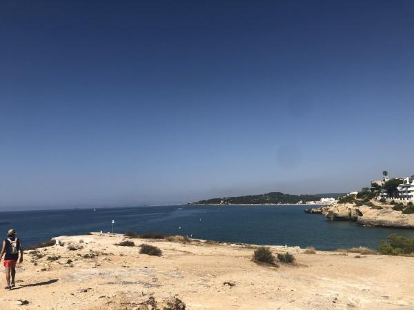 Entre playas y castillos, de Altafulla en la Punta de la Mora Con niños