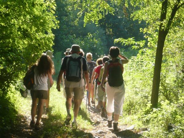 El camí del comte Arnau amb nens