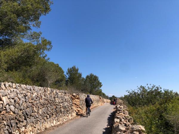 Una ruta con carácter mediterráneo Con niños