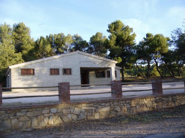 Área de ocio de la ermita dels Sants Metges Con niños