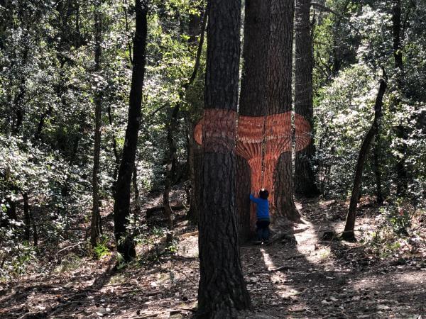 Bosc Pintat Con niños