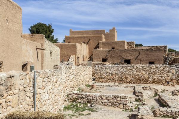 Ciudadela ibérica, Calafell. Foto: SHUTTERSTOCK.COM