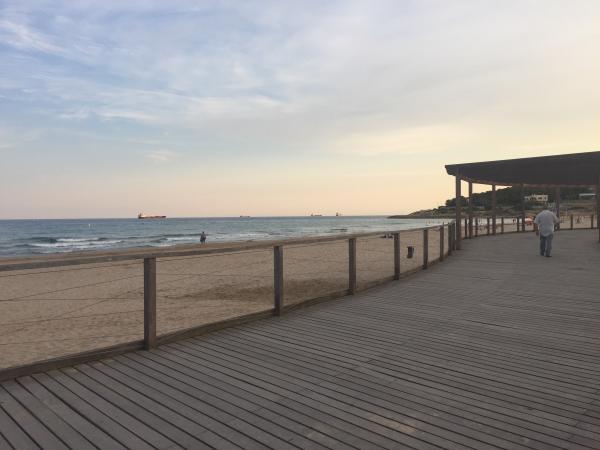 De Tarragona a la Punta de la Mora amb nens