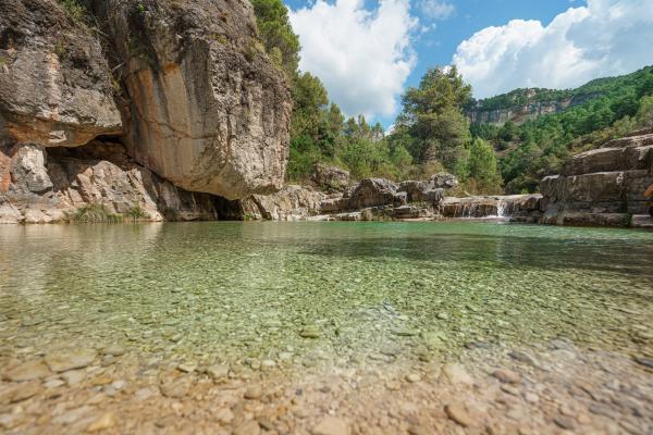 Piscines naturals, salts d'aigua, gorgs i pantans de Tarragona per visitar amb nens