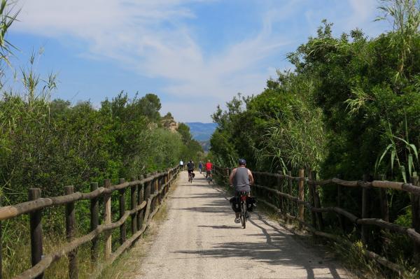 Excursiones en bici sorprendentes para hacer con niños en Tarragona
