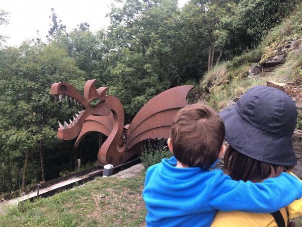 Mirador del Drac Con niños
